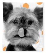 Yorkshire Terrier Dog Fleece Blanket