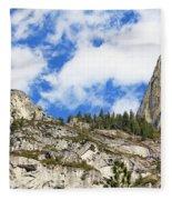 Yosemite Granite Fleece Blanket