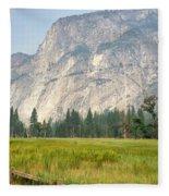 Yosemite Meadow Fleece Blanket