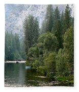 Yosemite National Park Fleece Blanket