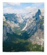 Yosemite Summers Fleece Blanket
