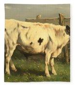 Young Bull Fleece Blanket