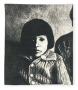 Young Girl Original Fleece Blanket