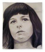 Young Girl Fleece Blanket