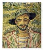Young Peasant Fleece Blanket