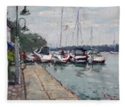 Youngstown Yachts Fleece Blanket