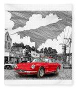 Your Ferrari In Tularosa N M  Fleece Blanket