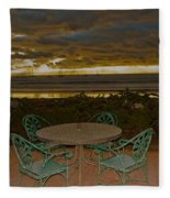 Your Table Is Ready Fleece Blanket