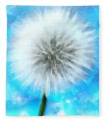 Youthful Wish Fleece Blanket
