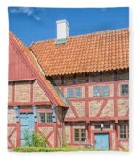 Ystad Old Mayors House Fleece Blanket