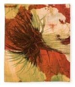 Yucca Abstract Warm Fleece Blanket