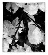 Yucca Flowers Fleece Blanket