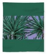 Yucca Tops Fleece Blanket