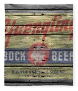 Yuengling Bock Beer Fleece Blanket
