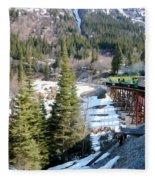 Yukon Railroad 3 Fleece Blanket