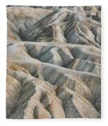 Zabriskie Point Death Valley Fleece Blanket