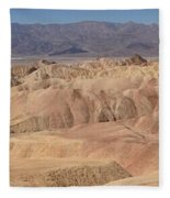Zabriskie Point Panorama Fleece Blanket