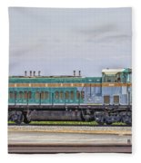 Foster Farms Locomotive Fleece Blanket