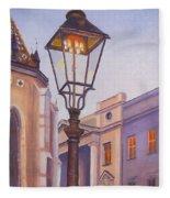 Zagreb Gaslight - Croatia Fleece Blanket