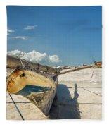 Zanzibar Outrigger Fleece Blanket
