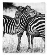 Zebra Love Fleece Blanket