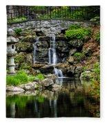 Zen Garden Fleece Blanket