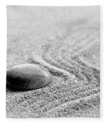 Zen Stone Fleece Blanket
