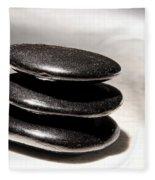Zen Stones Fleece Blanket