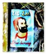 Zig Zag Double Wide Fleece Blanket