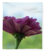 Zinnia Dream Fleece Blanket