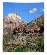 Zion National Park 2 Fleece Blanket