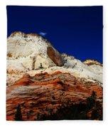 Zions Mount Fleece Blanket
