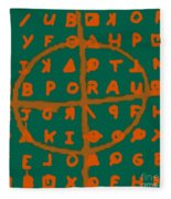 Zodiac Killer Code And Sign 20130213p28 Fleece Blanket