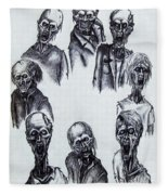 Zombies Fleece Blanket