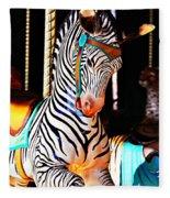 Zoo Animals 3 Fleece Blanket