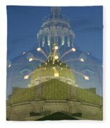 Zoomy Dome   # Fleece Blanket