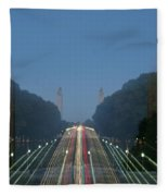 Zoomy Pic Of The Plaza State Capital Pa Fleece Blanket
