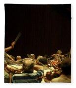 Zubin Mehta Israeli Philharmonic  Fleece Blanket