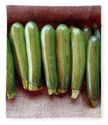Zucchinis Fleece Blanket