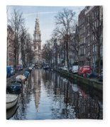Zuiderkerk Amsterdam Fleece Blanket