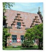 Zwaanendal Museum II - Henlopen  Fleece Blanket