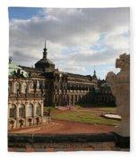 Zwinger Dresden - Germany Fleece Blanket