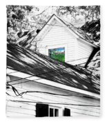 Beauregard Attic Baton Rouge Fleece Blanket