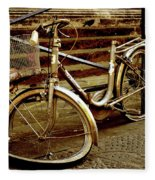 Bicycle Breakdown Fleece Blanket