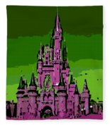Castle Of Dreams Fleece Blanket