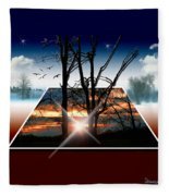 Into Another Dimension  Fleece Blanket