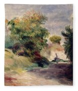 Landscape Near Cagnes Fleece Blanket