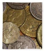 Money Money Money Fleece Blanket