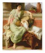 Pompeii Fleece Blanket