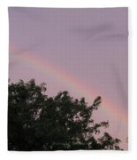 Rain And Sun Sync Bow Fleece Blanket
